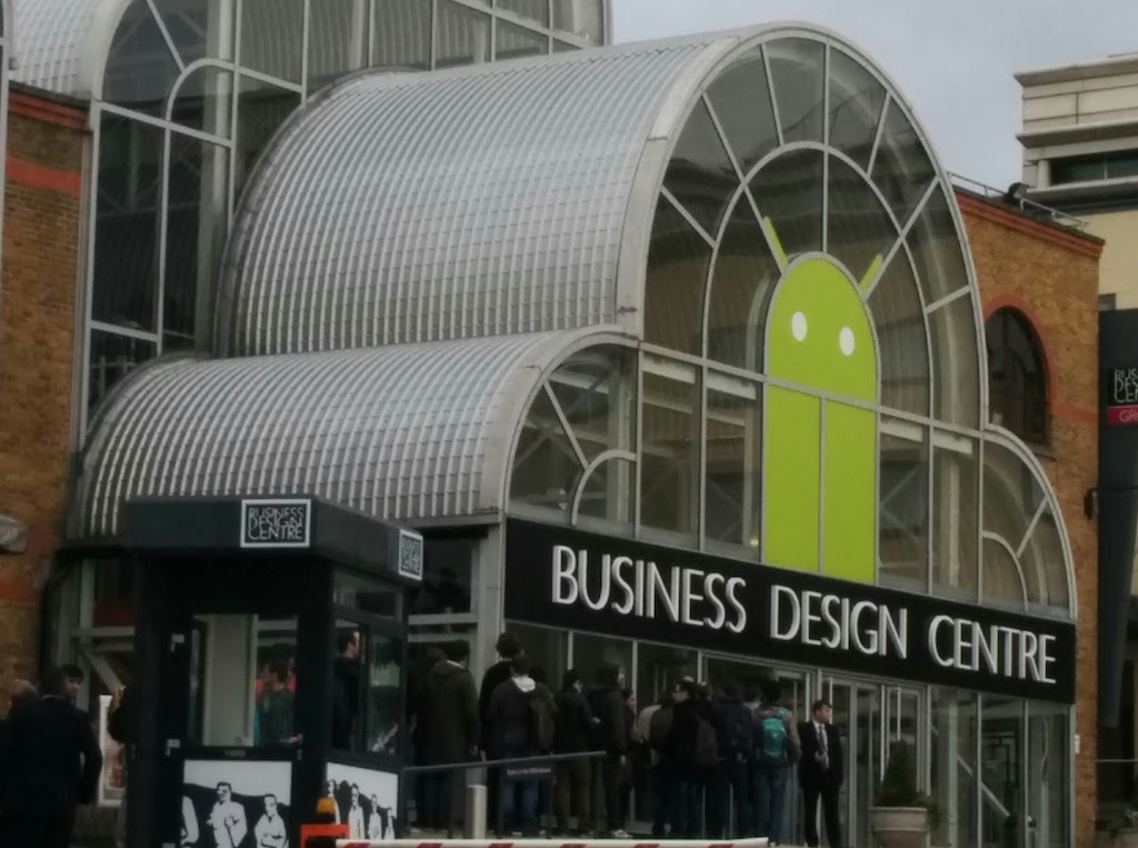 I took this photo at DroidCon UK 2015